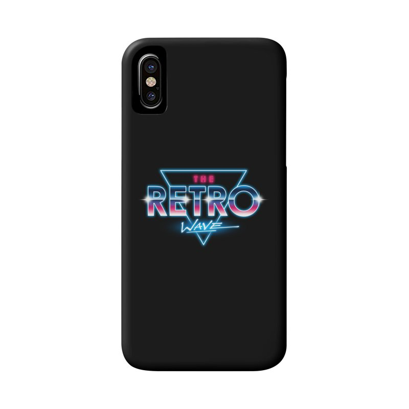 The Retro Wave Accessories Phone Case by Steven Toang