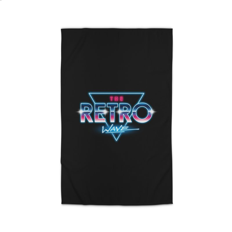 The Retro Wave Home Rug by Steven Toang