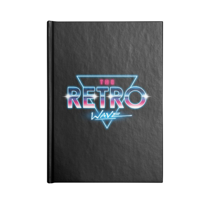 The Retro Wave Accessories Notebook by Steven Toang