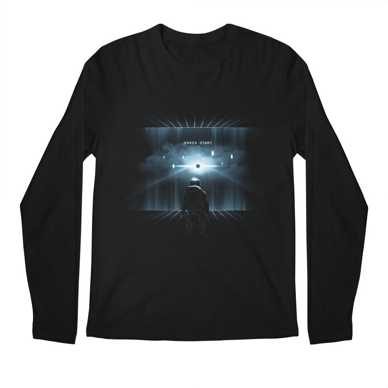 Dimension 404 Men's Longsleeve T-Shirt by Steven Toang