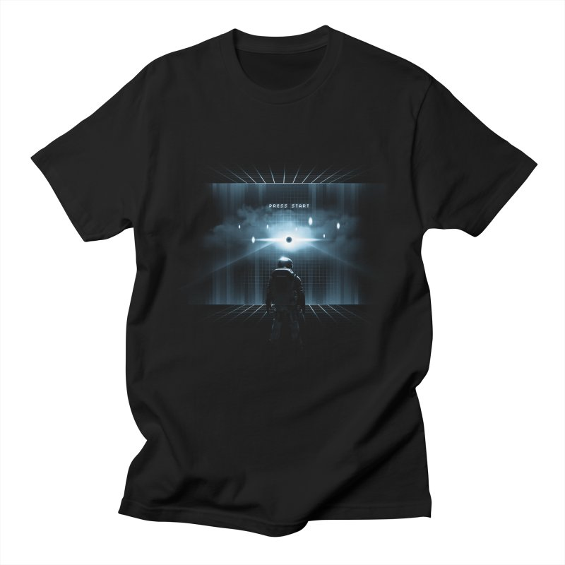 Dimension 404 Men's T-shirt by Steven Toang
