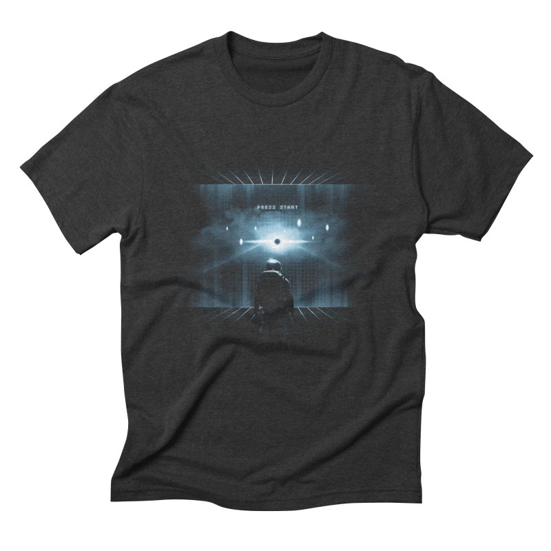 Dimension 404 Men's Triblend T-shirt by Steven Toang