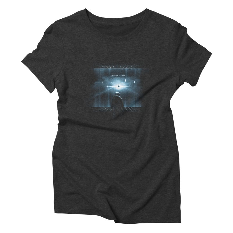 Dimension 404 Women's Triblend T-shirt by Steven Toang