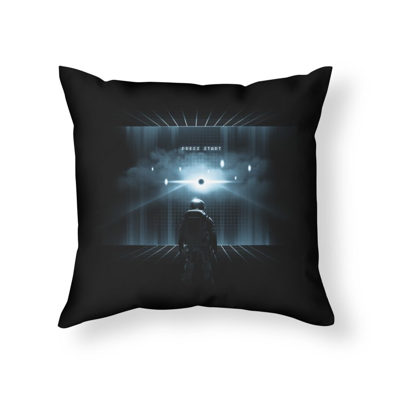 Dimension 404 Home Throw Pillow by Steven Toang