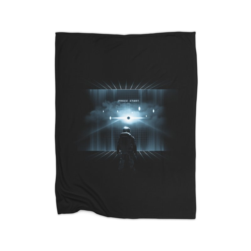 Dimension 404 Home Fleece Blanket Blanket by Steven Toang