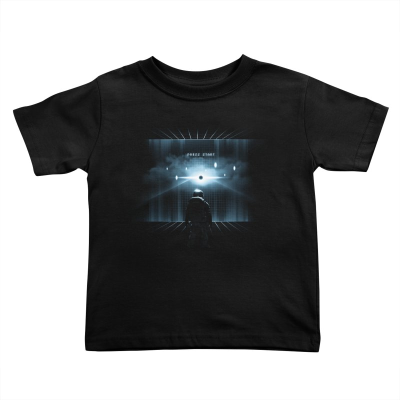 Dimension 404 Kids Toddler T-Shirt by Steven Toang