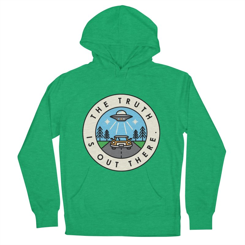 The truth is out there Men's Pullover Hoody by Steven Toang
