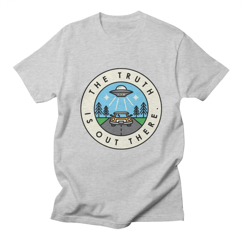 The truth is out there Men's T-shirt by Steven Toang