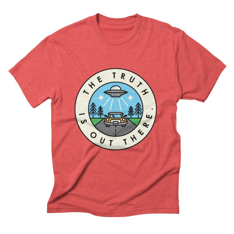 The truth is out there Men's Triblend T-shirt by Steven Toang