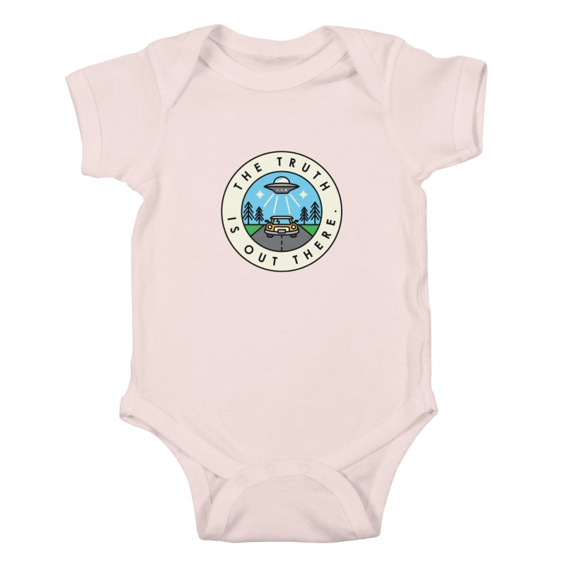 The truth is out there Kids Baby Bodysuit by Steven Toang