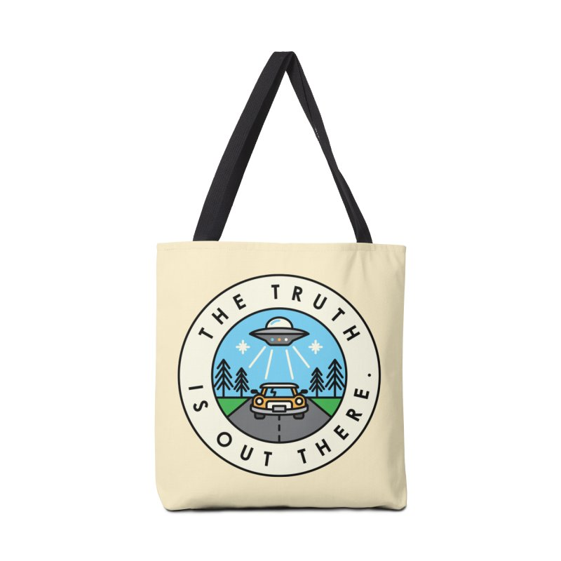 The truth is out there Accessories Tote Bag Bag by Steven Toang