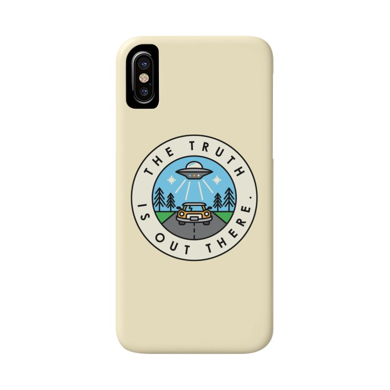 The truth is out there Accessories Phone Case by Steven Toang
