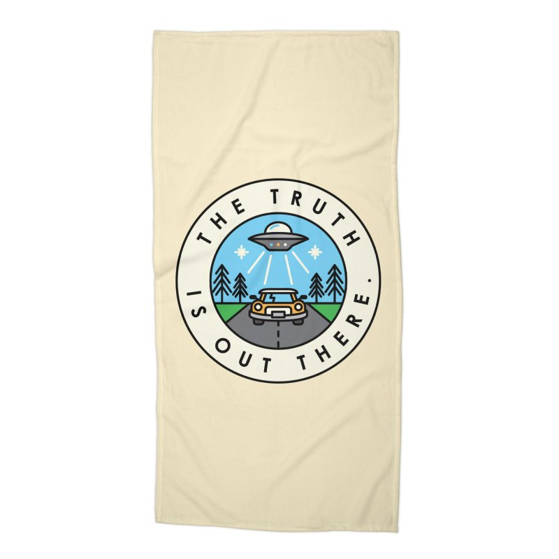 The truth is out there Accessories Beach Towel by Steven Toang