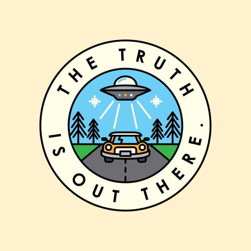 The truth is out there Women's Longsleeve Scoopneck  by Steven Toang