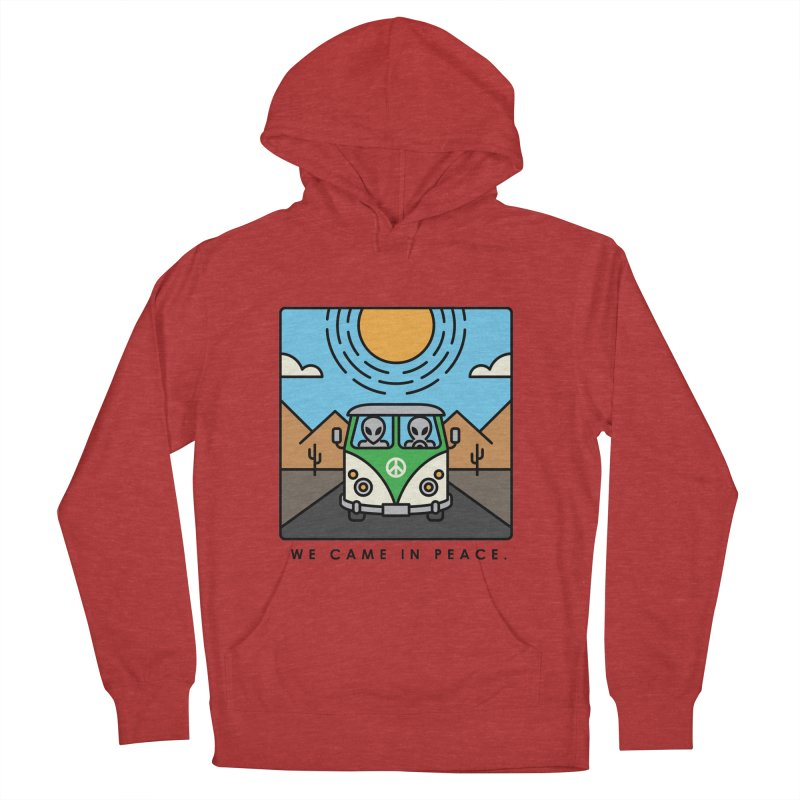 We came in peace Men's Pullover Hoody by Steven Toang