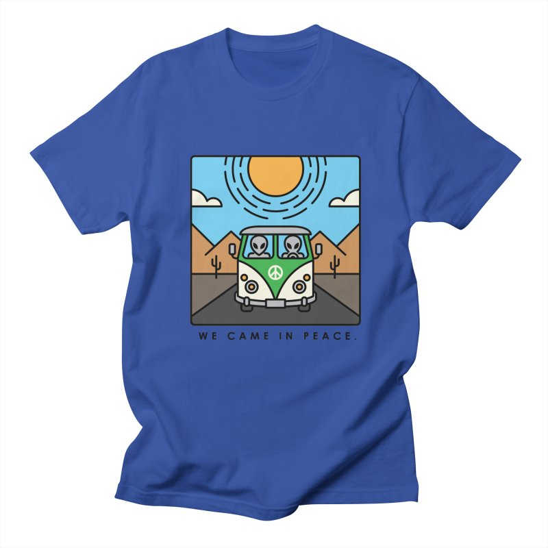 We came in peace Women's Unisex T-Shirt by Steven Toang