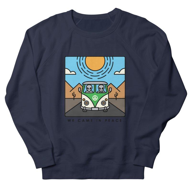 We came in peace Women's Sweatshirt by Steven Toang