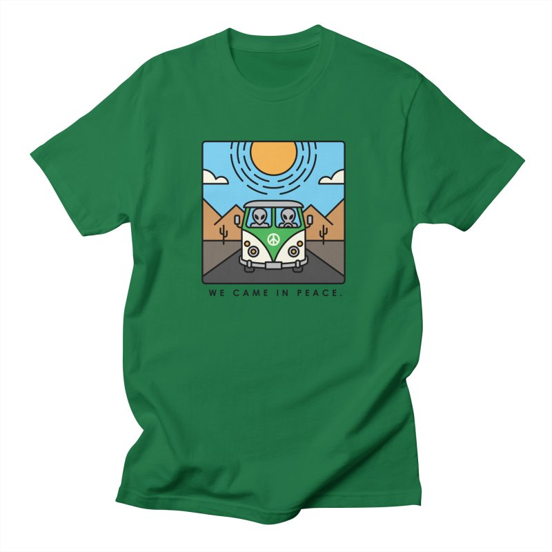 We came in peace Men's T-Shirt by Steven Toang