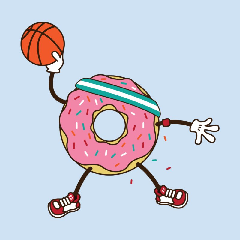 Dunking Donut by Steven Toang