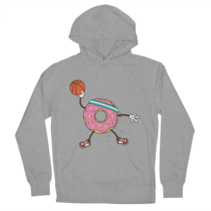 Dunking Donut Women's Pullover Hoody by Steven Toang