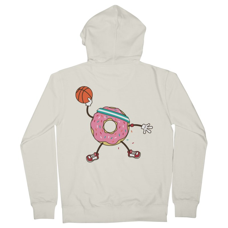 Dunking Donut Women's Zip-Up Hoody by Steven Toang