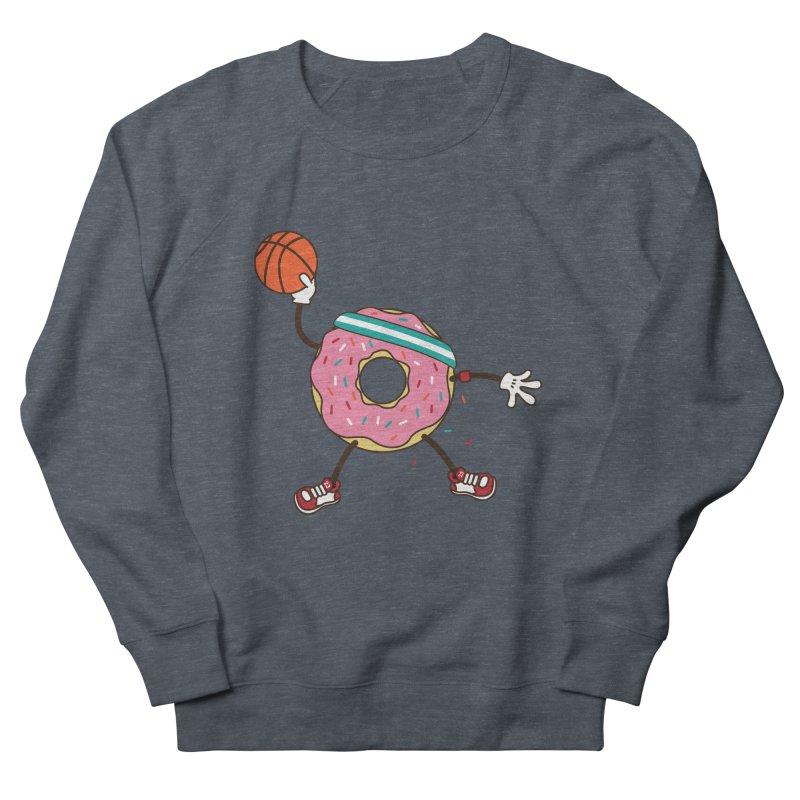 Dunking Donut Women's Sweatshirt by Steven Toang