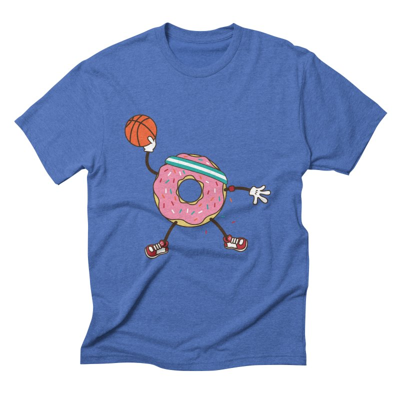 Dunking Donut Men's Triblend T-shirt by Steven Toang