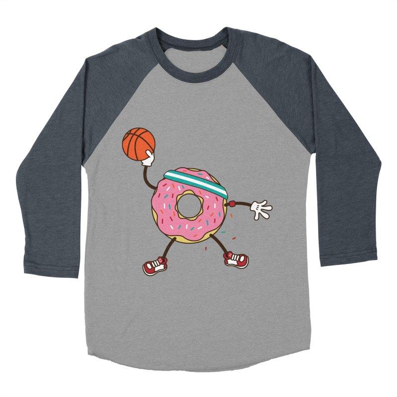 Dunking Donut Women's Baseball Triblend T-Shirt by Steven Toang