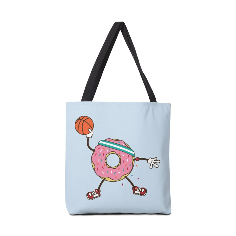 Dunking Donut Accessories Tote Bag Bag by Steven Toang