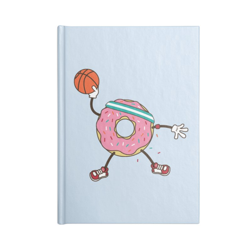 Dunking Donut Accessories Notebook by Steven Toang