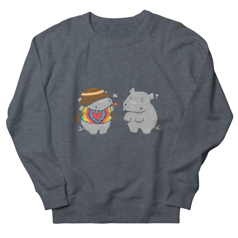 Hippypotamus Women's Sweatshirt by Steven Toang