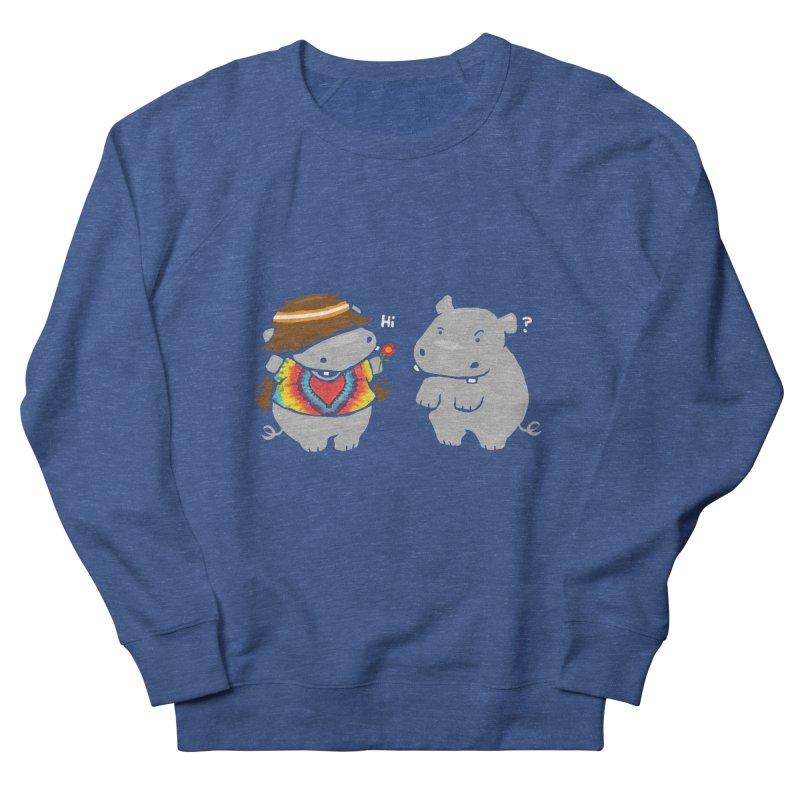 Hippypotamus Men's Sweatshirt by Steven Toang