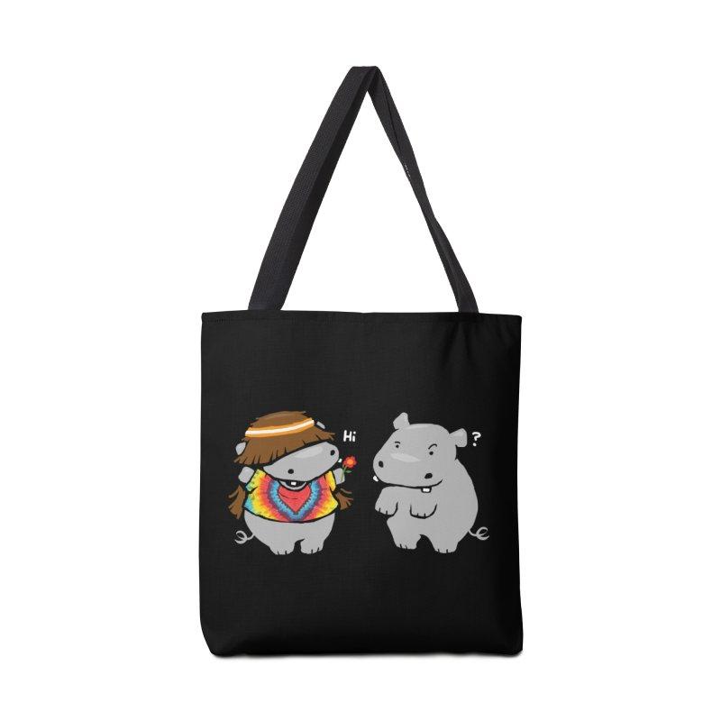 Hippypotamus Accessories Tote Bag Bag by Steven Toang