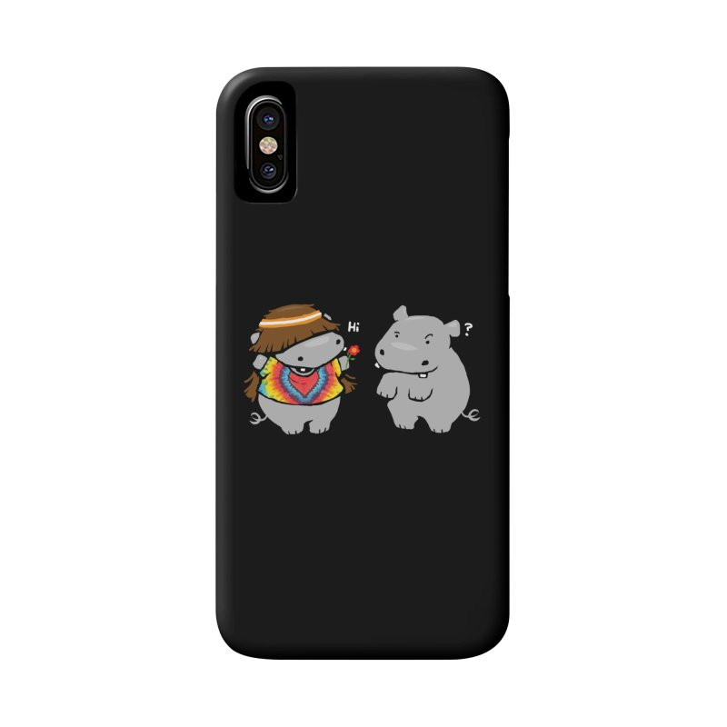 Hippypotamus Accessories Phone Case by Steven Toang