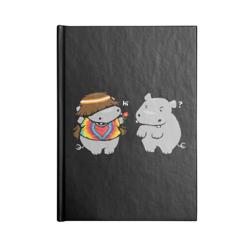 Hippypotamus Accessories Notebook by Steven Toang
