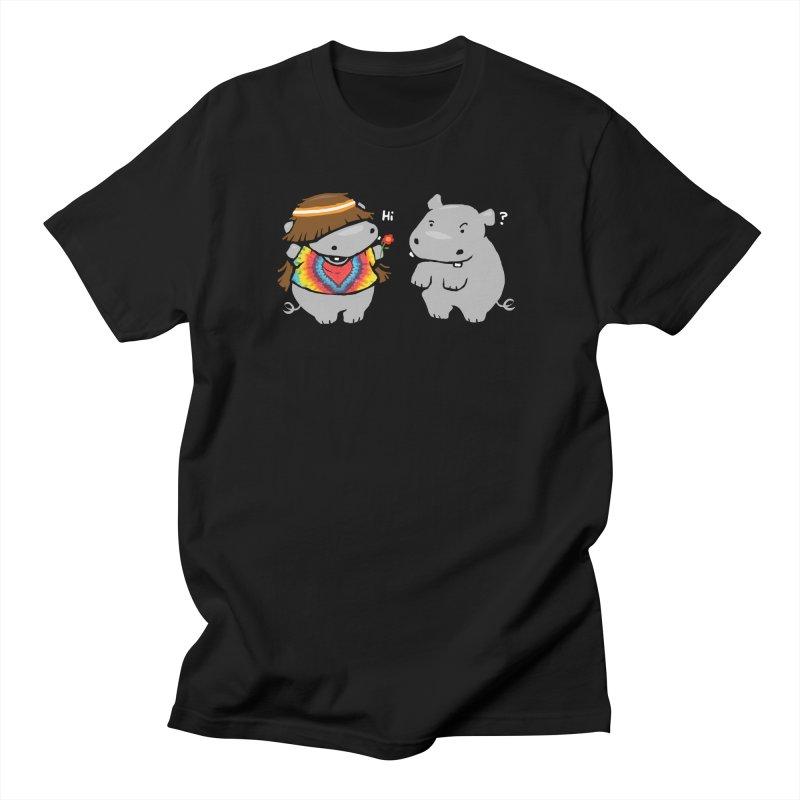 Hippypotamus Women's Unisex T-Shirt by Steven Toang