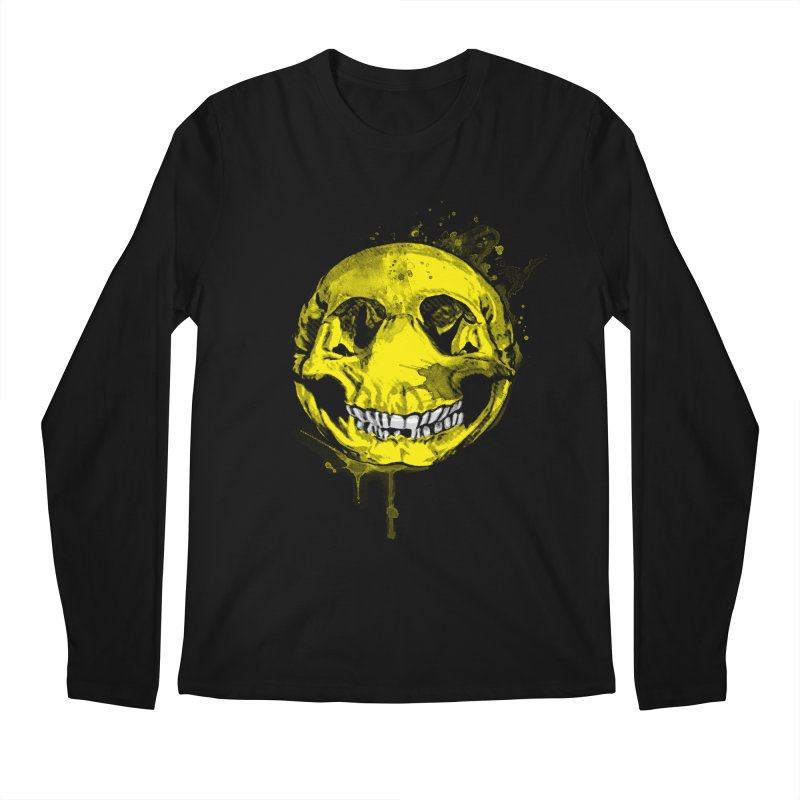Happy Boney Men's Longsleeve T-Shirt by Steven Toang