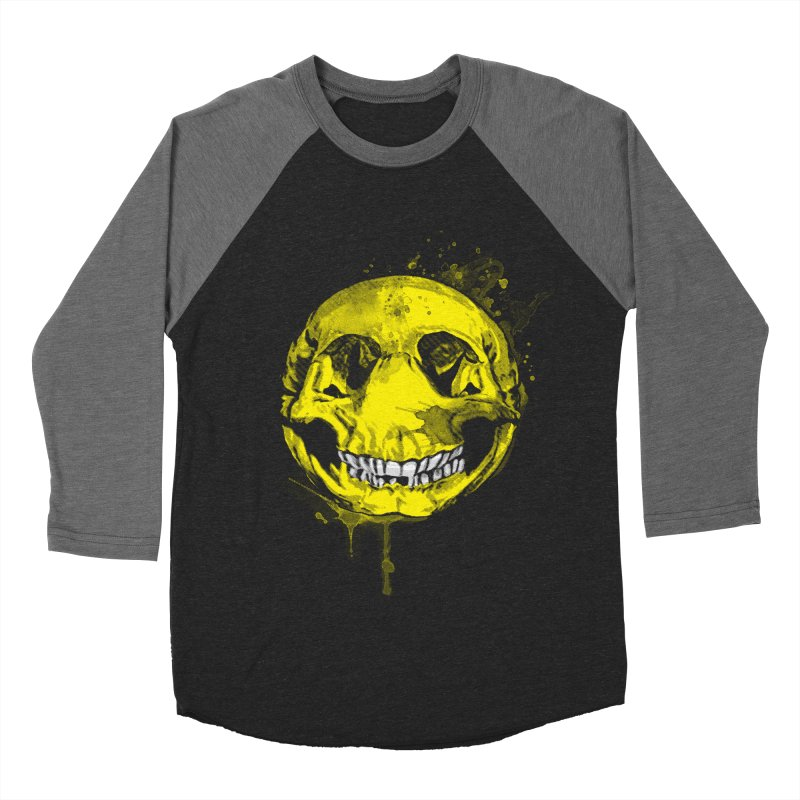 Happy Boney Men's Baseball Triblend T-Shirt by Steven Toang