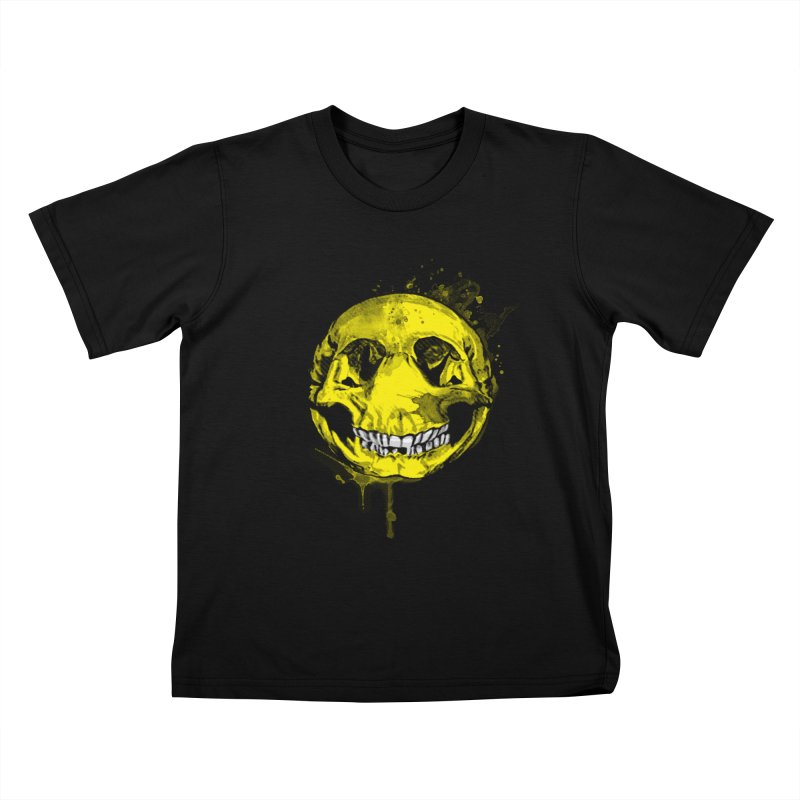 Happy Boney Kids T-shirt by Steven Toang