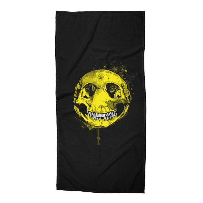 Happy Boney Accessories Beach Towel by Steven Toang
