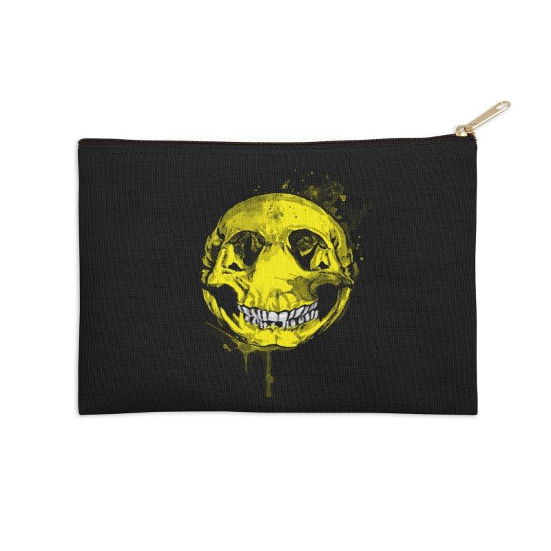 Happy Boney Accessories Zip Pouch by Steven Toang