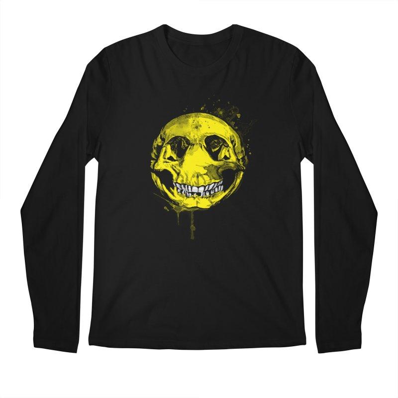Happy Boney Men's Longsleeve T-Shirt by Steven Toang