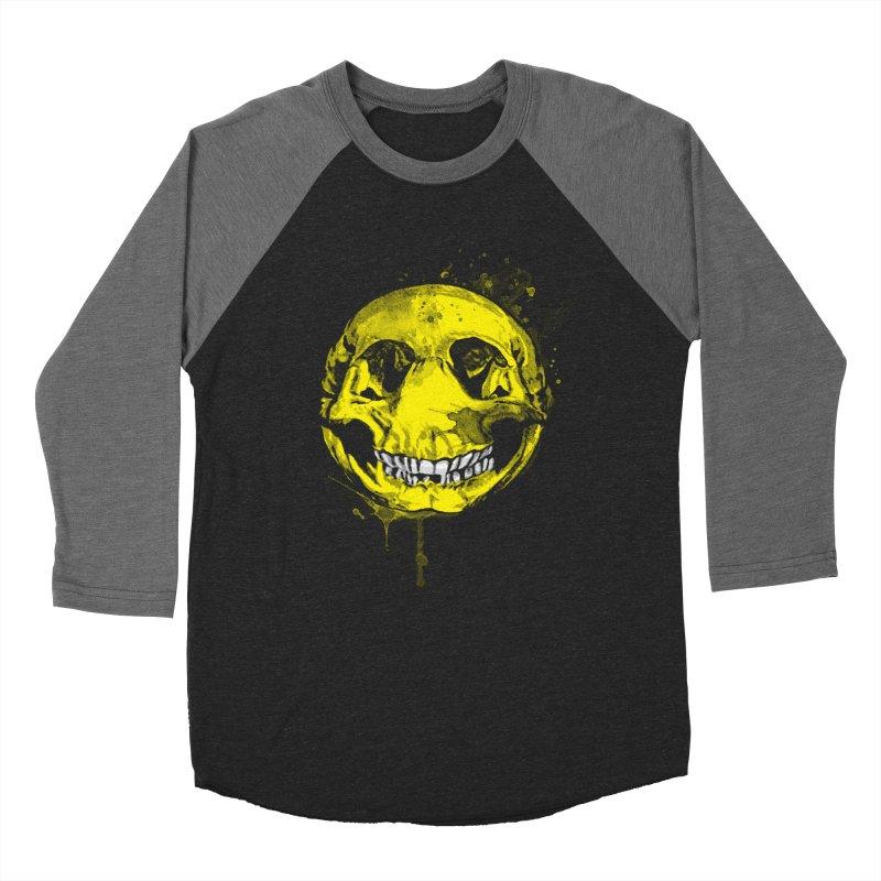 Happy Boney Men's Baseball Triblend T-Shirt by Steven Toang