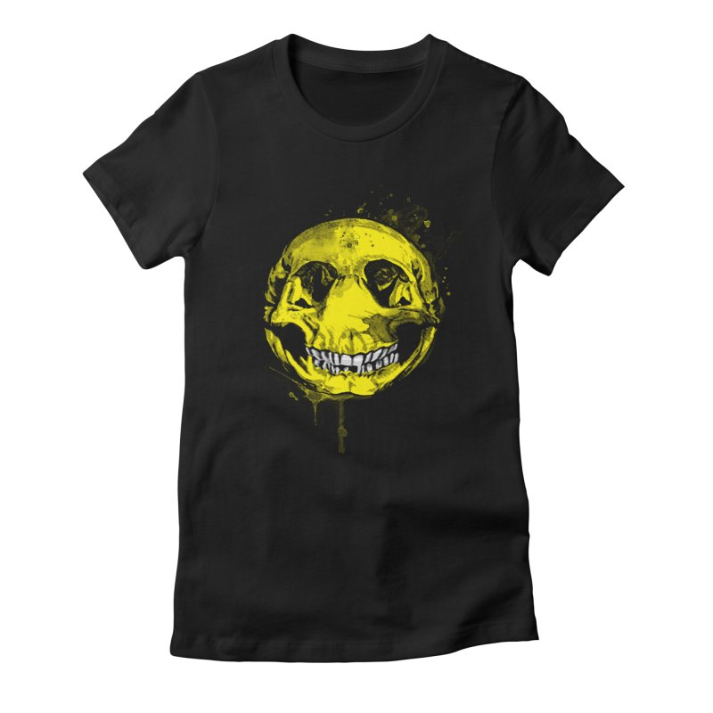 Happy Boney Women's Fitted T-Shirt by Steven Toang