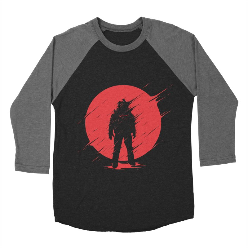 Red Sphere Women's Baseball Triblend T-Shirt by Steven Toang