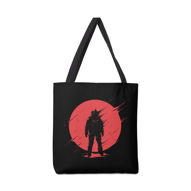 Red Sphere Accessories Bag by Steven Toang