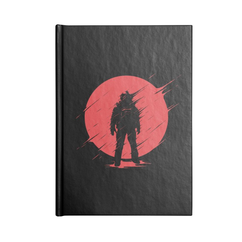Red Sphere Accessories Notebook by Steven Toang
