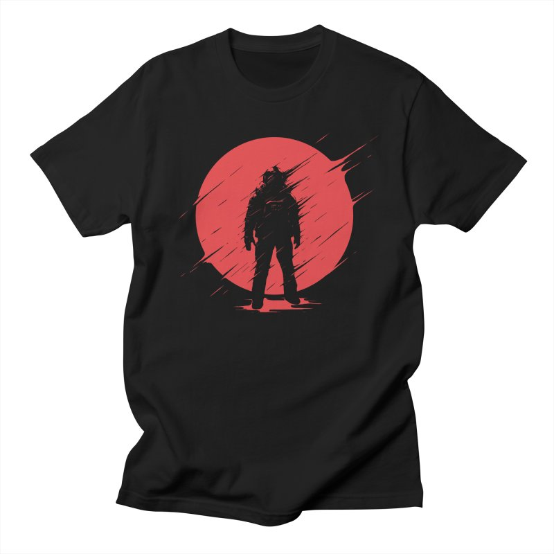 Red Sphere Men's T-Shirt by Steven Toang