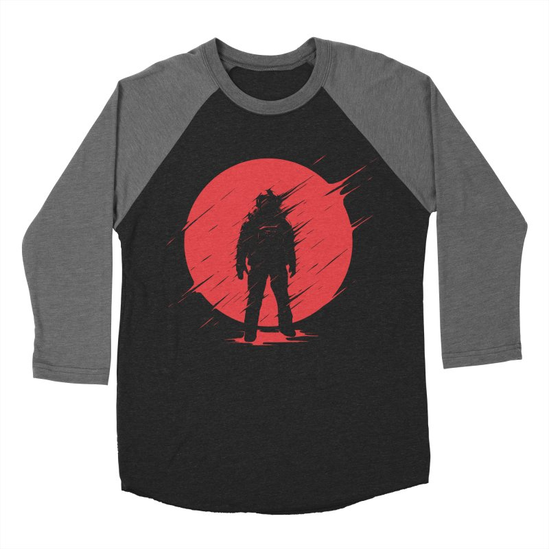 Red Sphere Women's Baseball Triblend T-Shirt by Steven Toang