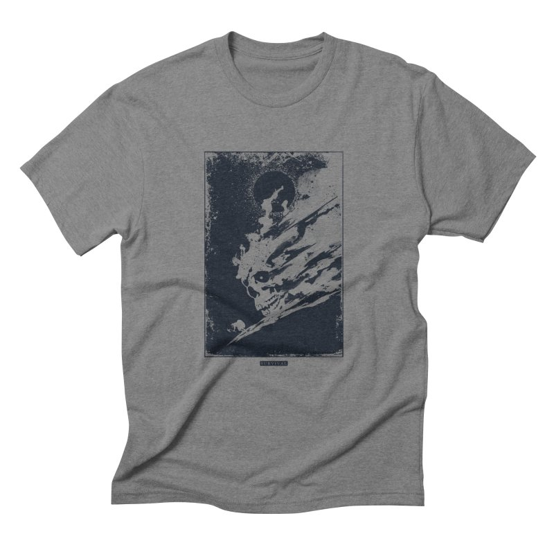 Survival Men's Triblend T-shirt by Steven Toang